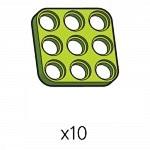 플레이트 (SPD-3b3(G)) 10개