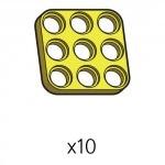 플레이트 (SPD-3b3(Y)) 10개