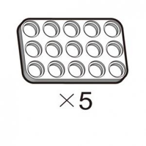 플레이트 (SPD-3b5(W)) 5개