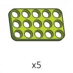 플레이트 (SPD-3b5(G)) 5개
