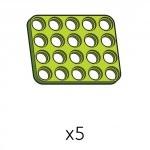 플레이트 (SPD-4b5(G)) 5개