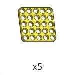 플레이트 (SPD-5b5(Y)) 5개