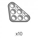 삼각플레이트 (SPA-3b3(W)) 10개