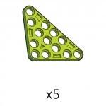 삼각플레이트 (SPA-5b5(G)) 5개