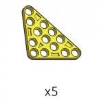 삼각플레이트 (SPA-5b5(Y)) 5개