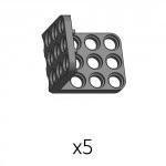 3단브라켓 (SPL-3b3(K)) 5개