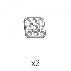 플레이트 (PD-3b3(w)) 2개
