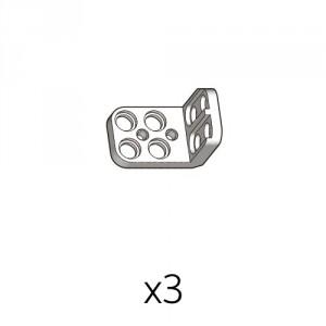 2단브라켓 (PL-2b2(w)) 3개