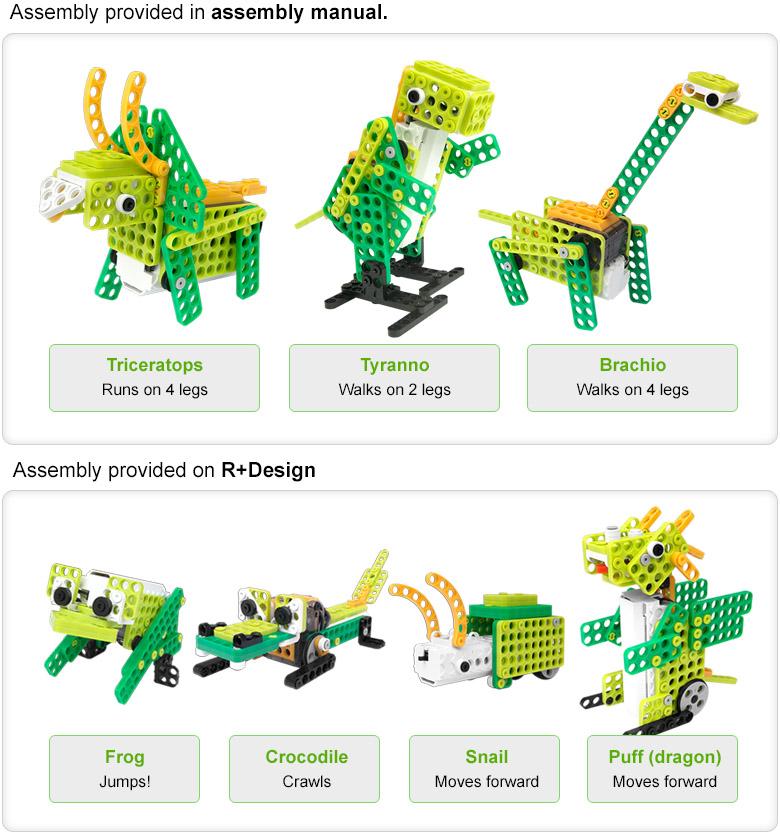 robotis play 300 dinos ile ilgili görsel sonucu